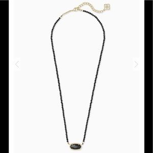 Kendra Scott Jewelry - Kendra Scott Elisa Beaded Necklace Black Glass